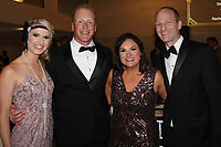 NWA Democrat-Gazette/CARIN SCHOPPMEYER Jaime and Stephen Turner (from left)  and Vanessa and Drake Branch enjoy A Vintage Affair for MS.