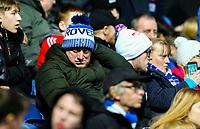 Blackburn Rovers fans watch on during the second half<br /> <br /> Photographer Alex Dodd/CameraSport<br /> <br /> The EFL Sky Bet Championship - Blackburn Rovers v Norwich City - Saturday 22nd December 2018 - Ewood Park - Blackburn<br /> <br /> World Copyright © 2018 CameraSport. All rights reserved. 43 Linden Ave. Countesthorpe. Leicester. England. LE8 5PG - Tel: +44 (0) 116 277 4147 - admin@camerasport.com - www.camerasport.com