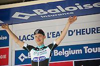 It looks as if Tony Martin (DEU/OPQS) is gonna win the Belgiumtour for yet another year<br /> <br /> 2014 Belgium Tour<br /> stage 4: Lacs de l'Eau d'Heure - Lacs de l'Eau d'Heure (178km)