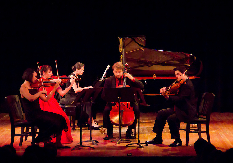 Centrum, Chamber Music Workshop, Fort Worden, June 16-21 2015, Quartet Elektra, Wheeler Theater, Port Townsend, Washington State, Pacific Northwest,