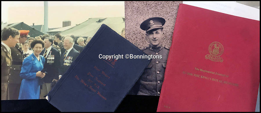 BNPS.co.uk (01202 558833)<br /> Pic: Bonningtons/BNPS<br /> <br /> The amazing story of a fearless soldier who escaped from the Nazis eight times during five years as a POW including once to save a dying friend's life can be told after his bravery medals emerged for sale.<br /> <br /> Trooper Thomas Moreton, of the 19th King's Royal Hussars, was held captive at the notorious Stalag XXB in East Prussia after being captured during the Battle of France in May 1940.<br /> <br /> The tank driver was part of a defiant rearguard helping to buy time for the mass evacuation of British Expeditionary Force soldiers at Dunkirk.<br /> <br /> After being recaptured following one of his escapes, he twice went in front of a Gestapo firing squad but emerged unscathed. On another occasion, he broke out of camp to find a doctor who would tend to his gravely ill comrade as he was being denied treatment by the camp guards.