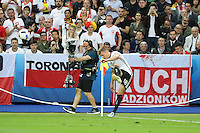 Ecke von Toni Kroos (D) - EM 2016: Deutschland vs. Polen, Gruppe C, 2. Spieltag, Stade de France, Saint Denis, Paris