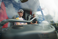 Lars Bak (DNK) always gets front seat<br /> <br /> 1st Brussels Cycling Classic<br /> Brussels - Brussels: 197km