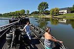 Navettes fluviales sur la Loire entre Angers et Bouchemaine/Béhuard.