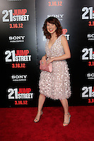 LOS ANGELES, CA - MAR 13: Ellie Kemper at the premiere of Columbia Pictures '21 Jump Street' held at Grauman's Chinese Theater on March 13, 2012 in Los Angeles, California