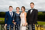 Pictured at the Presentation Tralee Debs ball at the Ballyroe Heights Hotel on Thursday, were, from l-rPatrick Dineen, Czara Casey, Agnieszka Urbaniak and Marek Luszykiewick