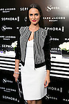 Alicia Sanz attends the SMODA Magazine and SEPHORA new Marc Jacobs Make up collection presentation at Sephora Shop in Madrid, Spain. October 6, 2014. (ALTERPHOTOS/Carlos Dafonte)