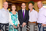 DINNER: Enjoying the Tralee Bay Swimming Club Annual Dinner in the Meadowlands Hotel, Tralee on Saturday night were homas Brosnan, Elizabeth O'Connell, Michael O'Connell, Michael O'Connell, Frank Ryan