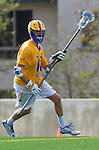 Los Angeles, CA 02-26-17 - Dietrich Von Kaenel (UCSB #10) in action during the MCLA conference game between LMU and UC Santa Barbara.  Santa Barbara defeated LMU 15-0.
