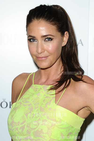 Lisa Snowdon arriving for the 013 Glamour Women of The Year Awards, Berkeley Square, London. 04/06/2013 Picture by: Steve Vas / Featureflash