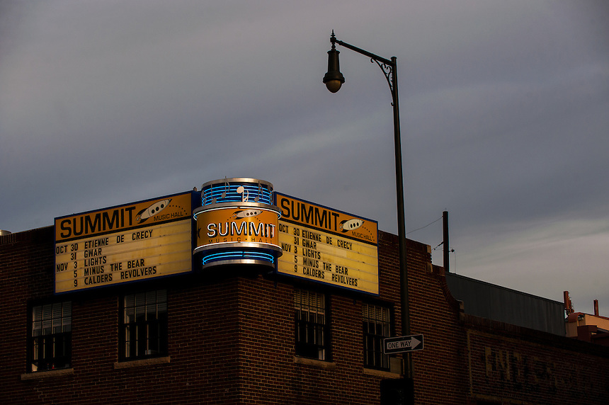 10/31/12 - The summit music hall in lower downtown (LoDo), Denver, Colorado. Concert Venues - Downtown.