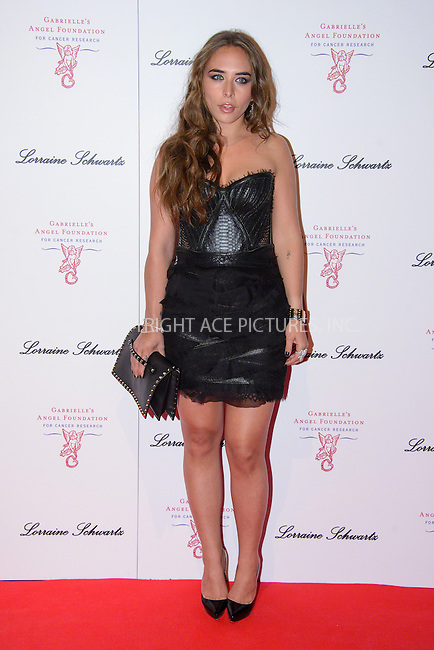 WWW.ACEPIXS.COM<br /> <br /> May 7 2014, London<br /> <br /> Chloe Green arriving at Gabrielle's Gala at Old Billingsgate Walk on May 7 2014 in London<br /> <br /> By Line: Famous/ACE Pictures<br /> <br /> <br /> ACE Pictures, Inc.<br /> tel: 646 769 0430<br /> Email: info@acepixs.com<br /> www.acepixs.com