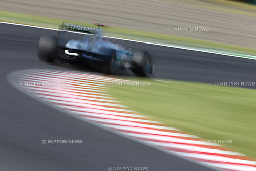 Michael Schumacher (Mercedes), .OCTOBER 5, 2012 - F1 : .during the Japan Formula One Grand Prix practice session at the Suzuka Circuit in Suzuka, Japan. . (Photo by AFLO SPORT)