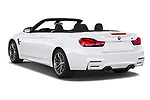 Car pictures of rear three quarter view of a 2020 BMW M4 Base 2 Door Convertible angular rear