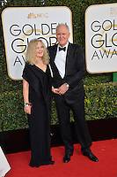 John Lithgow &amp; wife at the 74th Golden Globe Awards  at The Beverly Hilton Hotel, Los Angeles USA 8th January  2017<br /> Picture: Paul Smith/Featureflash/SilverHub 0208 004 5359 sales@silverhubmedia.com