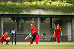 Natural Yip Sze Wan of Hong Kong in action during their ICC 2016 Women's World Cup Asia Qualifier match between China and Hong Kong on 10 October 2016 at the Hong Kong Cricket Club in Hong Kong, China. Photo by Victor Fraile / Power Sport Images