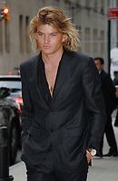 NEW YORK, NY - SEPTEMBER 8:  Jordan Barrett arriving to the Daily Front Row Fashion Awards at Four Seasons NY Downtown in New York City on September 8,  2017. <br /> CAP/MPI/RW<br /> &copy;RW/MPI/Capital Pictures