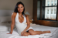 NEW YORK - FOR SUNDAY NEWS:  Adult film star Asa Akira, 28, at the Morgans New York Hotel in midtown Manhattan, NY, Wednesday, April 2, 2014.<br /> <br /> PICTURED:  <br /> <br /> <br /> (Angel Chevrestt, 646.314.3206)