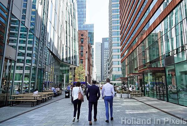 Nederland Amsterdam - april 2018 . Kantoren aan de Zuidas. Claude Debussylaan.  Foto Berlinda van Dam / Hollandse Hoogte