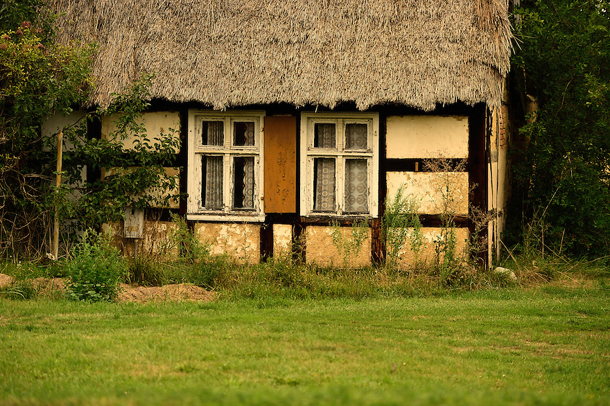 Deserted houses, Ahlbeck, Germany