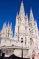 Catedral,1221-1261, towers 15th century, Burgos, Spain