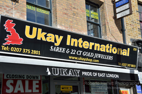 Ukay international shop, London