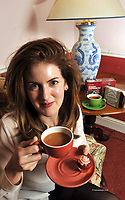 2-10-2011 Sam Harrisson from Cloudberry Bakery in Miltown, County Kerry who won the Best New Emerging Food Producer from Kerry pictured enjoying a cup of 'Supervalu reserva tea' which won the supreme award at the annual Blas na hEireann Food Awards as part of the Dingle Food Festival in County Kerry at the weekend.<br /> Picture by Don MacMonagle<br /> <br /> <br /> PR photo: Blas na hEireann<br /> more info: Sue James PR  0857336981 <br /> <br /> <br /> &copy; Photo by Don MacMonagle - macmonagle.com<br /> info@macmonagle.com