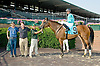 Vicarious Won winning at Delaware Park on 7/26/12