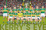 The Kerry team who beat Galway in the Allianz GAA Football National League at Austin Stack Park on Sunday.
