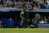 30.04.2012 SPAIN -  Champions League 12/13 Matchday 12th  match played between Real Madrid CF vs  Ballspiel-Verein Borussia 09 Dortmund at Santiago Bernabeu stadium. The picture Jurgen Klopp (Coach of Borussia Dortmund)