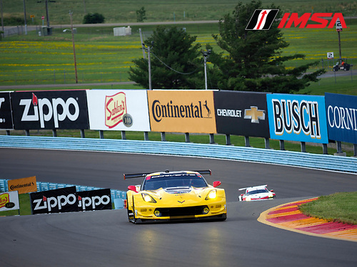IMSA WeatherTech SportsCar Championship<br /> Sahlen's Six Hours of the Glen<br /> Watkins Glen International, Watkins Glen, NY USA<br /> Friday 30 June 2017<br /> 4, Chevrolet, Corvette C7.R, GTLM, Oliver Gavin, Tommy Milner<br /> World Copyright: Michael L. Levitt/LAT Images