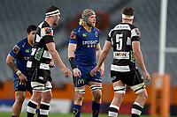 Josh Dickson of Otago in action during 2018 Mitre 10 Cup Championship rugby semifinal between Canterbury and Counties Manukau at Forsyth Barr Stadium in Dunedin, New Zealand on Saturday, 20 October 2018. Photo: Joe Allison / lintottphoto.co.nz