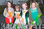 DANCERS:Naomi Burke,Lala Collins,Abbie Sheehan and Ciara O'Connor who marched in the Abbeydorney St Patrick's Day Parade on Monday.