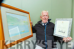 Killarney artist Eric Anderson who received a letter from Donald Trump after he had sent him an invitation to Killarney and a watercolour painting of Killarney lakes