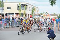WIELRENNEN: DE WESTEREEN: 16-08-2014, 63e Ronde van De Westereen, winnaar Coen Rijpma uit Oldeholtpade, ©foto Martin de Jong