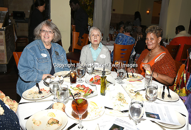 The crowd attends the Big Apple Knitters Guild 25th Annual Luncheon Gala on September 24, 2016 at Kellari Taverna in New York City, New York, USA. <br /> <br /> photo by Robin Platzer/Twin Images<br />  <br /> phone number 212-935-0770