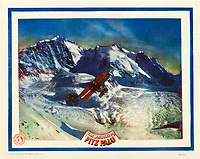 White Hell of Pitz Palu (1929)<br /> (Die wei&szlig;e H&ouml;lle vom Piz Pal&uuml;)<br /> Lobby card<br /> *Filmstill - Editorial Use Only*<br /> CAP/KFS<br /> Image supplied by Capital Pictures