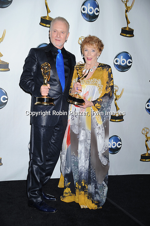 Anthony Geary, winner of Outstanding Lead Actor in a Drama Series and Jeanne Cooper, winner of Outstanding Actress in a Drama Series..at The 35th Annual Daytime Entertainment Emmy Awards at The Kodak Theatre on June 20, 2008 in Hollywood California.....Robin Platzer, Twin Images