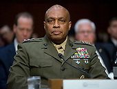 "Lieutenant General Vincent Stewart, Director of the Defense Intelligence Agency (DIA) testifies during the United States Senate Select Committee on Intelligence hearing titled ""Worldwide Threats"" on Capitol Hill in Washington, DC on Thursday, May 11, 2017.  <br /> Credit: Ron Sachs / CNP<br /> (RESTRICTION: NO New York or New Jersey Newspapers or newspapers within a 75 mile radius of New York City)"