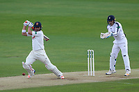 Neil Wagner in batting action for Essex during Essex CCC vs Hampshire CCC, Specsavers County Championship Division 1 Cricket at The Cloudfm County Ground on 20th May 2017
