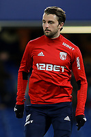 Jay Rodriguez of West Brom during Chelsea vs West Bromwich Albion, Premier League Football at Stamford Bridge on 12th February 2018