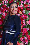 NEW YORK, NY - JUNE 10:  Ariana DeBose attends the 72nd Annual Tony Awards at Radio City Music Hall on June 10, 2018 in New York City.  (Photo by Walter McBride/WireImage)