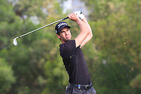 Victor Riu (FRA) on the 4th tee during Round 1 of the Omega Dubai Desert Classic, Emirates Golf Club, Dubai,  United Arab Emirates. 24/01/2019<br /> Picture: Golffile | Thos Caffrey<br /> <br /> <br /> All photo usage must carry mandatory copyright credit (&copy; Golffile | Thos Caffrey)