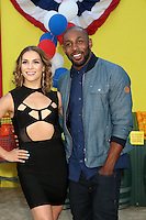 Allison Holker, Stephen Boss<br /> at the &quot;Sausage Party&quot; Premiere, Village Theater, Westwood, CA 08-09-16<br /> David Edwards/DailyCeleb.com 818-249-4998