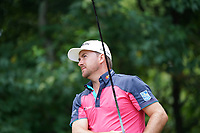 Graeme McDowell (NIR) tees off the 12th tee during Wednesday's Practice Day of the 2017 PGA Championship held at Quail Hollow Golf Club, Charlotte, North Carolina, USA. 9th August 2017.<br /> Picture: Eoin Clarke | Golffile<br /> <br /> <br /> All photos usage must carry mandatory copyright credit (&copy; Golffile | Eoin Clarke)
