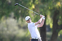 02/19/12 Pacific Palisades: Zach Johnson during the fourth round of the Northern Trust Open held at the Riviera Country Club