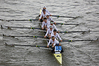 Crew: 3   St Pauls School Boat Club   Championship Eights<br /> <br /> Schools' Head of the River 2018<br /> <br /> To purchase this photo, or to see pricing information for Prints and Downloads, click the blue 'Add to Cart' button at the top-right of the page.