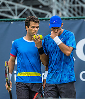Den Bosch, Netherlands, 13 June, 2017, Tennis, Ricoh Open, Men's doubles, Jean-Julien Rojer (NED) / Horia Tecau (ROU) (R)<br /> Photo: Henk Koster/tennisimages.com