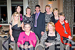 FUN: enjoying the fun at the Ballygarry House hotel staff reunion on Saturday seated l-r: Elaine Young, Eileen Walsh, Margaret Enright and Kay Kerins. Back l-r: Marie Galvin, Mary Griffin, John Griffin, Breda O'Leary and Sheila Hanafin.