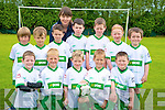 PIctured with coach Orla Bruton at the FAI soccer camp in Mastergeeha, Killarney on Friday were Brendan O'Leary, Brian Roche, Cathal Brosnan, Michael Sweeney, John Cronin, Tristian Kittle O'Brien, Kieran Healy, Barry Lenihan, Sean O'Leary, James O'Brien, Sarah Neher and Denis Horgan.
